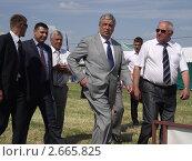 Павел Бородин на выставке Белагро 2011. Редакционное фото, фотограф Дмитрий Никоненко / Фотобанк Лори