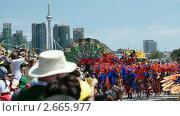 Купить «Карибский фестиваль в Торонто», видеоролик № 2665977, снято 1 августа 2010 г. (c) Игорь Киселёв / Фотобанк Лори