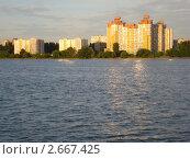 Вид на Воронежское водохранилище (2011 год). Стоковое фото, фотограф Светлана Курц / Фотобанк Лори