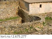 Купить «Реконструкция строений Танаиса», фото № 2675277, снято 14 мая 2011 г. (c) Борис Панасюк / Фотобанк Лори