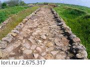 Купить «Каменная мостовая Танаиса», фото № 2675317, снято 14 мая 2011 г. (c) Борис Панасюк / Фотобанк Лори