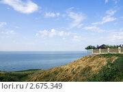 Купить «Берег Азовского моря», фото № 2675349, снято 1 июля 2011 г. (c) Борис Панасюк / Фотобанк Лори
