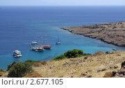 Эгейское море в районе Бодрума, Турция (2011 год). Стоковое фото, фотограф Natalya Sidorova / Фотобанк Лори