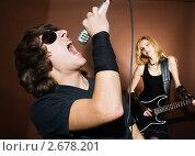 Рок-группа. Стоковое фото, фотограф Величко Микола / Фотобанк Лори