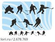Купить «Хоккеисты», иллюстрация № 2678769 (c) Эдуард Бежанов / Фотобанк Лори