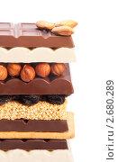 Купить «Шоколад с орехами и черносливом», фото № 2680289, снято 7 мая 2011 г. (c) Сергей Новиков / Фотобанк Лори