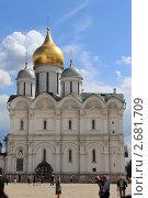 Архангельский собор. Кремль (2011 год). Редакционное фото, фотограф Иван Козлов / Фотобанк Лори