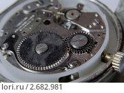 Купить «Старый часовой механизм», фото № 2682981, снято 17 июля 2011 г. (c) Pukhov K / Фотобанк Лори