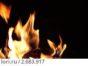 Огонь. Стоковое фото, фотограф Евгений Можаровский / Фотобанк Лори