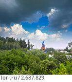 Купить «Вид на город Заводоуковск», фото № 2687829, снято 13 июля 2011 г. (c) Яков Филимонов / Фотобанк Лори