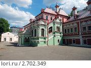 Купить «Юсуповские палаты, Москва», фото № 2702349, снято 6 августа 2011 г. (c) Павел Просветов / Фотобанк Лори