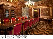 Купить «Кабинет в Палатах Волкова-Юсупова», фото № 2703409, снято 7 августа 2011 г. (c) Рыбакова Людмила / Фотобанк Лори