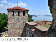 Вида ,средневековый замок на Дунае. Стоковое фото, фотограф Владимир Доковски / Фотобанк Лори