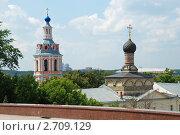 Купить «Москва. Вид на Андреевский монастырь», эксклюзивное фото № 2709129, снято 30 июня 2011 г. (c) lana1501 / Фотобанк Лори