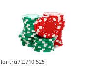 Купить «Фишки казино», фото № 2710525, снято 7 августа 2011 г. (c) Марина Сапрунова / Фотобанк Лори
