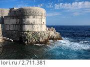 Купить «Форт Бокар, Дубровник, Хорватия», фото № 2711381, снято 19 июня 2011 г. (c) Pshenichka / Фотобанк Лори