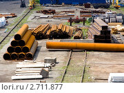 Металлопрокат. Стоковое фото, фотограф Aleksandr Chernukhin / Фотобанк Лори