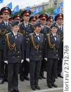 Купить «Курсанты полиции», эксклюзивное фото № 2712769, снято 12 июня 2011 г. (c) Free Wind / Фотобанк Лори