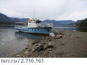 Купить «Бот у берега», эксклюзивное фото № 2716161, снято 3 мая 2011 г. (c) Free Wind / Фотобанк Лори