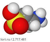 Купить «Полусферическая (объемная) модель молекулы таурина», иллюстрация № 2717481 (c) Владимир Федорчук / Фотобанк Лори