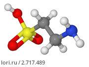 Купить «Шаростержневая модель молекулы таурина», иллюстрация № 2717489 (c) Владимир Федорчук / Фотобанк Лори