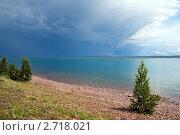 Купить «Оз. Белё, Хакасия», фото № 2718021, снято 16 июля 2011 г. (c) Сергей Болоткин / Фотобанк Лори
