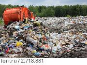 Городская свалка. Стоковое фото, фотограф Клыкова Инна / Фотобанк Лори