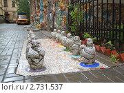 Купить «Мозаичный дворик», фото № 2731537, снято 4 сентября 2010 г. (c) Левина Татьяна / Фотобанк Лори