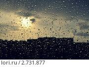 Дождь за окном. Стоковое фото, фотограф Марина Зимина / Фотобанк Лори
