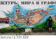 Купить «Конкурс граффити в Самаре», фото № 2731929, снято 13 августа 2011 г. (c) Акиньшин Владимир / Фотобанк Лори