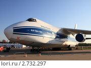 Купить «МАКС 2011. Транспортный самолёт АН-124», эксклюзивное фото № 2732297, снято 18 августа 2011 г. (c) Дмитрий Неумоин / Фотобанк Лори