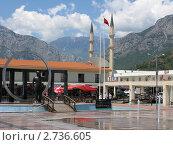 Турция, Кемер, центральная площадь, эксклюзивное фото № 2736605, снято 1 июня 2010 г. (c) Юрий Морозов / Фотобанк Лори