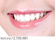 Милая женская улыбка. Стоковое фото, фотограф RedTC / Фотобанк Лори
