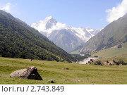 Купить «Чегемское ущелье. Чегем. Северный Кавказ», фото № 2743849, снято 30 июля 2006 г. (c) Юлий Шик / Фотобанк Лори