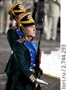 Купить «Показательные выступления Президентского полка», фото № 2744293, снято 9 сентября 2010 г. (c) Андрей Дегтярёв / Фотобанк Лори