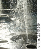 Фонтан в лучах солнца (2010 год). Редакционное фото, фотограф Боровитина Екатерина / Фотобанк Лори