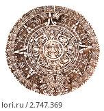 Купить «Календарь племени майя», фото № 2747369, снято 24 августа 2011 г. (c) Павел Коновалов / Фотобанк Лори