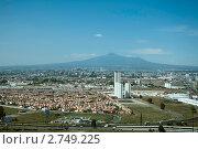 Купить «Пуэбла на фоне вулкана Малинче. Мексика», фото № 2749225, снято 2 июня 2011 г. (c) Ludenya Vera / Фотобанк Лори