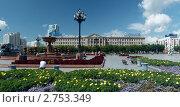 Купить «Хабаровск. Площадь имени Ленина», фото № 2753349, снято 22 августа 2011 г. (c) Сергей Балдин / Фотобанк Лори