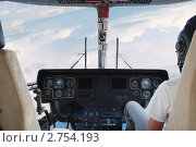 Кабина вертолета. Стоковое фото, фотограф Дмитрий Верещагин / Фотобанк Лори