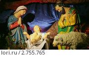 Купить «Рождественский вертеп», видеоролик № 2755765, снято 4 апреля 2011 г. (c) Виталий Зверев / Фотобанк Лори