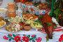Праздничный стол украинца, фото № 2760821, снято 24 августа 2011 г. (c) Елена Гордеева / Фотобанк Лори