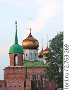 Купить «Вход в Тульский кремль», фото № 2763269, снято 21 ноября 2018 г. (c) Владимир Катасонов / Фотобанк Лори
