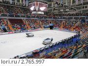 Купить «Ледовая арена Мегаспорт во время чемпионата мира по фигурному катанию 2011 года», фото № 2765997, снято 28 апреля 2011 г. (c) Игорь Долгов / Фотобанк Лори