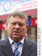 Купить «Валерий Сердюков, губернатор Ленинградской области», фото № 2767213, снято 1 сентября 2011 г. (c) Александр Тарасенков / Фотобанк Лори