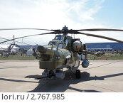 Боевой ударный вертолет Ми-28 (Havoc) (2011 год). Редакционное фото, фотограф Сизов Евгений / Фотобанк Лори