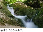 Купить «Водопад», фото № 2768409, снято 5 августа 2011 г. (c) Михаил Фёдоров / Фотобанк Лори