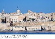 Купить «Вид с моря на Валетту и Великую Гавань, Мальта», фото № 2774061, снято 20 декабря 2010 г. (c) Яков Филимонов / Фотобанк Лори