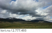 Купить «Горный пейзаж. Таймлапс. Киргизия.», видеоролик № 2777493, снято 14 сентября 2010 г. (c) Юрий Пономарёв / Фотобанк Лори