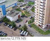Купить «Москва. Вид на район Новокосино», эксклюзивное фото № 2779165, снято 5 сентября 2011 г. (c) lana1501 / Фотобанк Лори
